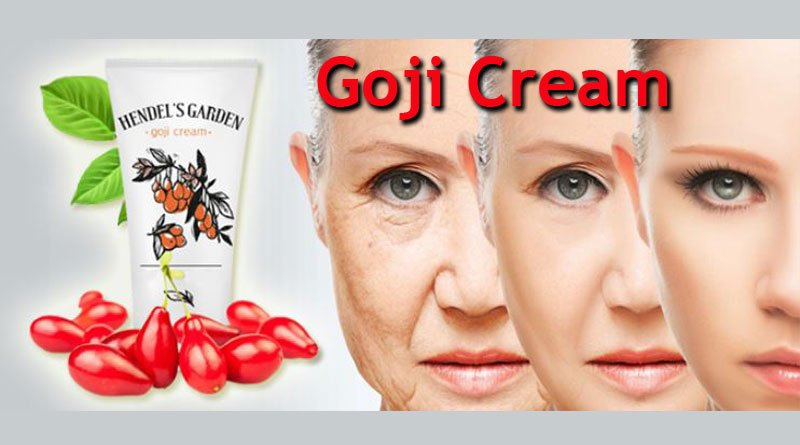 goji cream of handel's garden with three woman